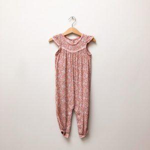 Baby Boden floral jumpsuit