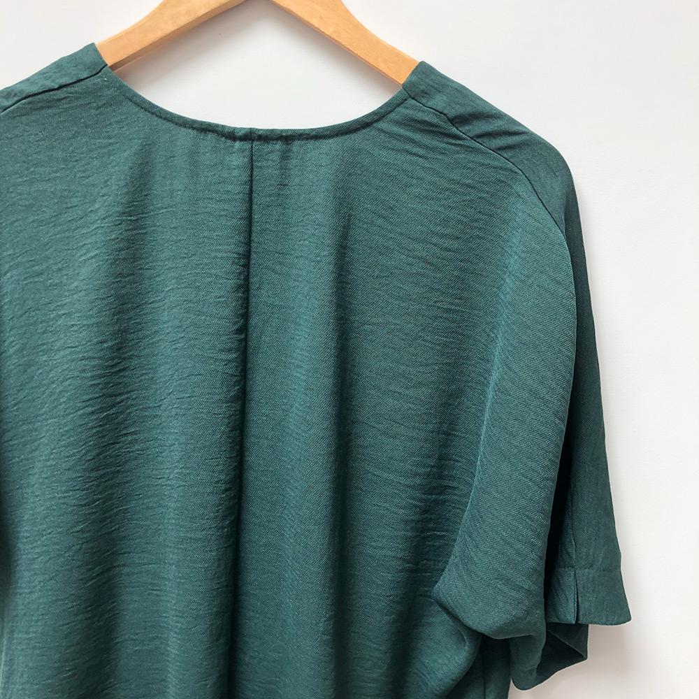 Primark green top